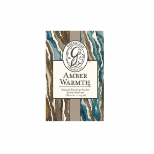 Greenleaf Small Scented Sachet - Amber Warmth